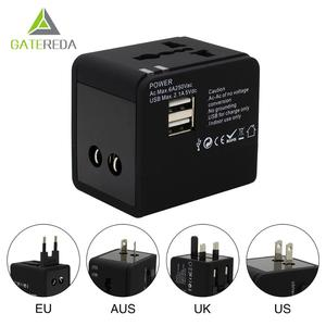 Ac/dc Universal usb travel adapter