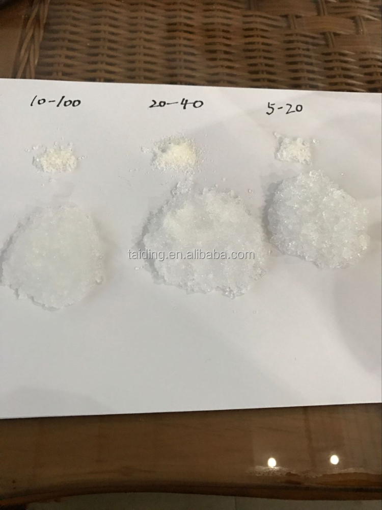 SAP/super absorbent polymer / polyacrylamide for oil ,agriculture