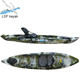 LLDPE wholesale 12ft single cheap fishing kayak and boat