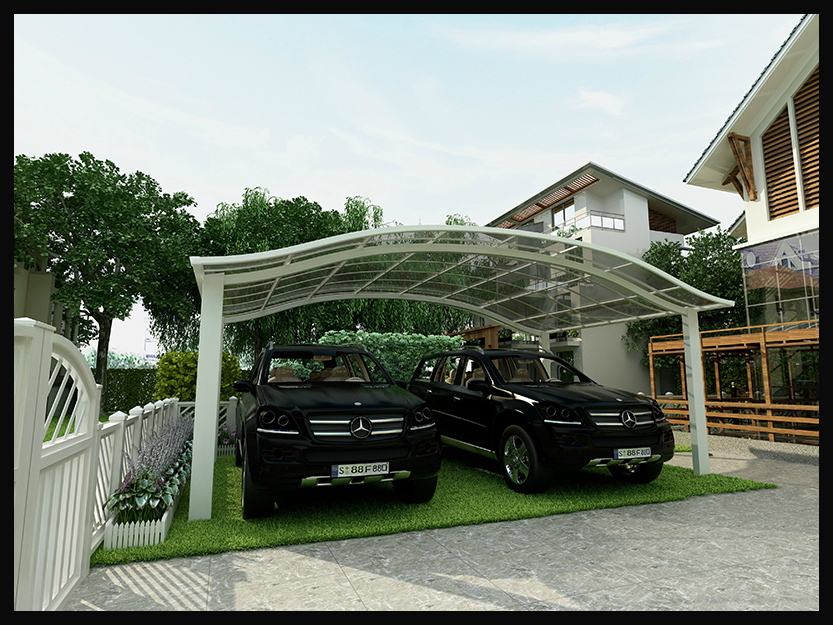 how to build a carport attached to a garage