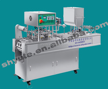 Hot selling automatic cup filling and sealing machine for water