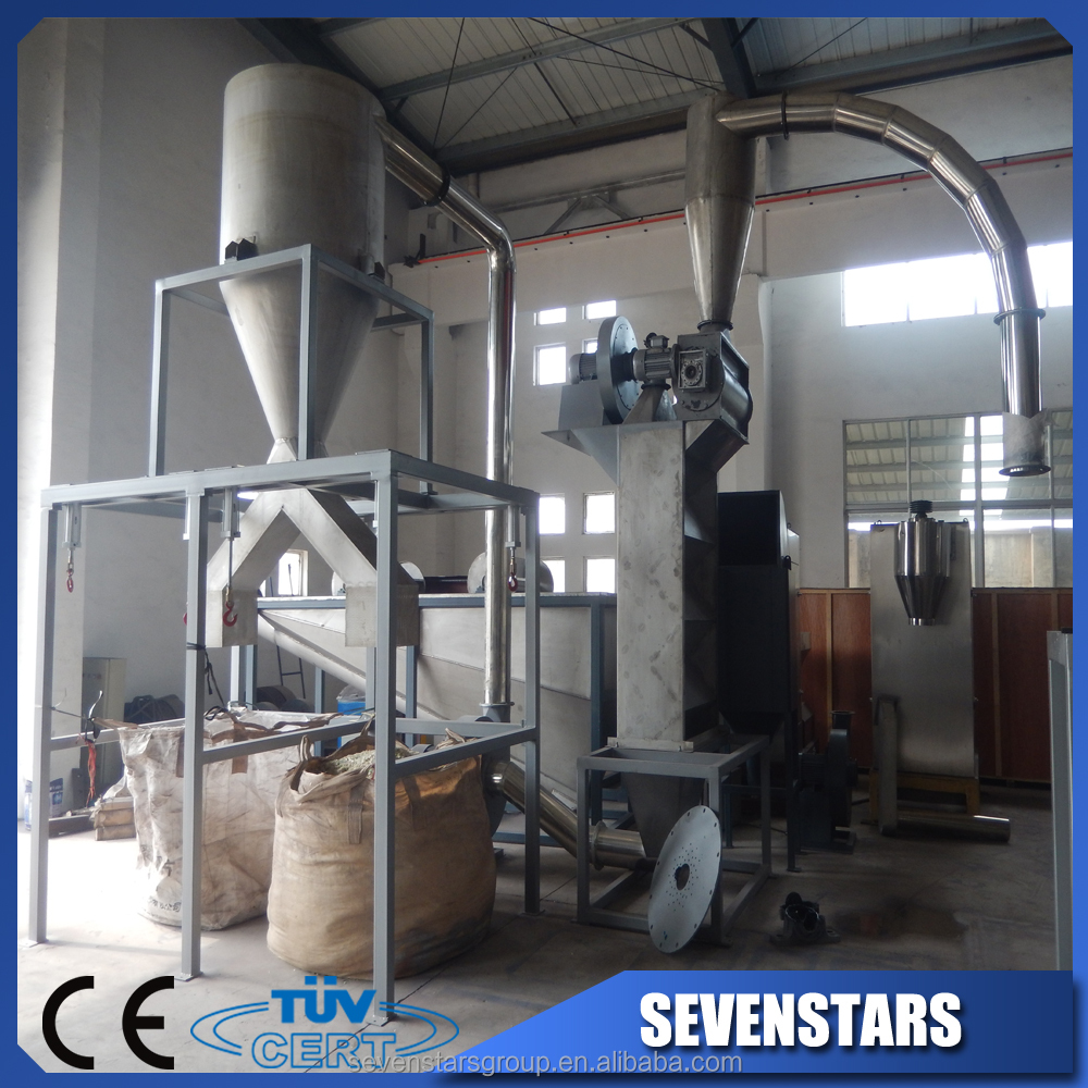 pet wash machine/pet recycling line/waste plastic crushing and washing machine