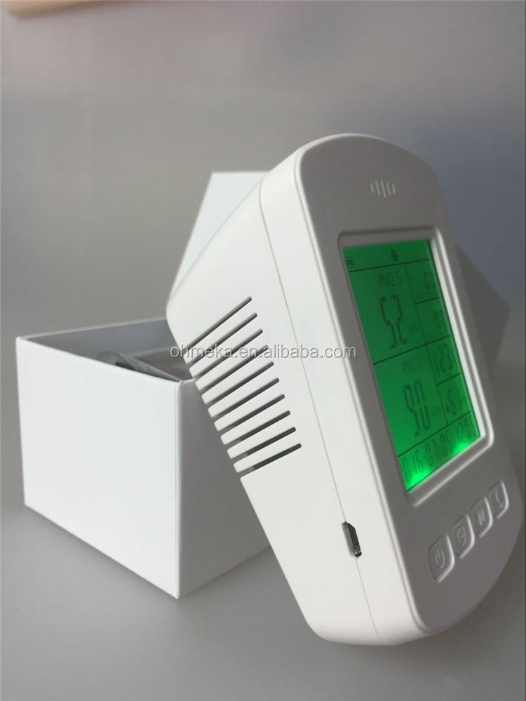 Indoor Air Quality Meter Temperature Relative Humidity Pm2.5 Air ...