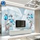 Highlighter surface 3d wall tiles 3d seaworld fish pattern porcelain 3d tiles for bathroom designs
