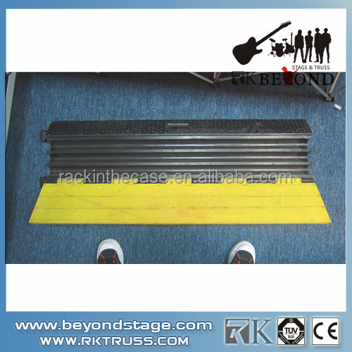 Factory price 3 channel cable ramp/cable protector