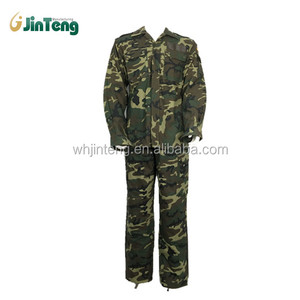 Top Quality Spanish Army Woodland Camouflage Military Uniform