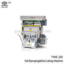 2019 Nieuwe TYMC-203 Goudfolie Print Hot Stempel <span class=keywords><strong>Machine</strong></span>