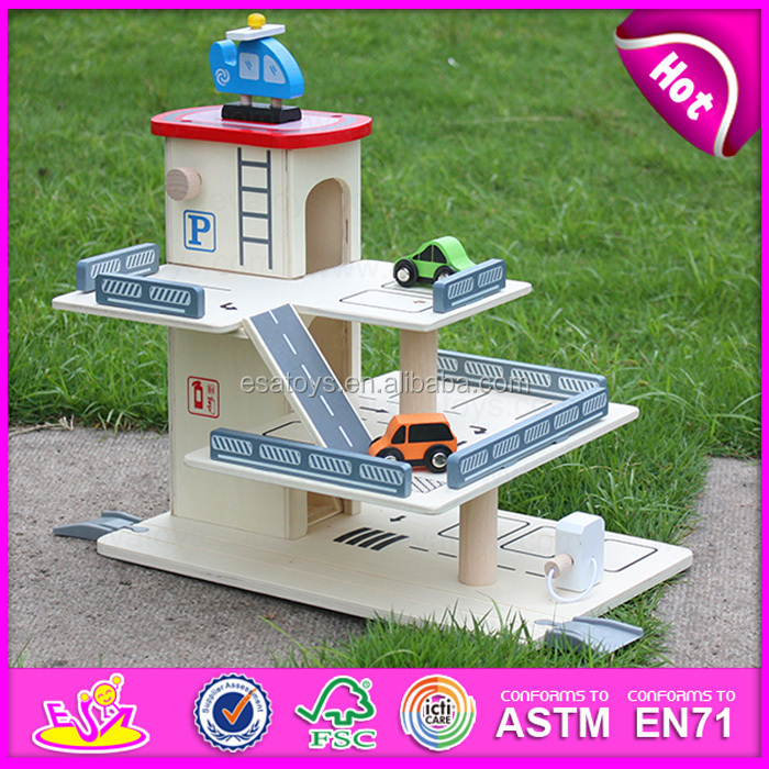 2015 Multiplayer Diy Car Parking Garage Toy For Kids Pretend Toy