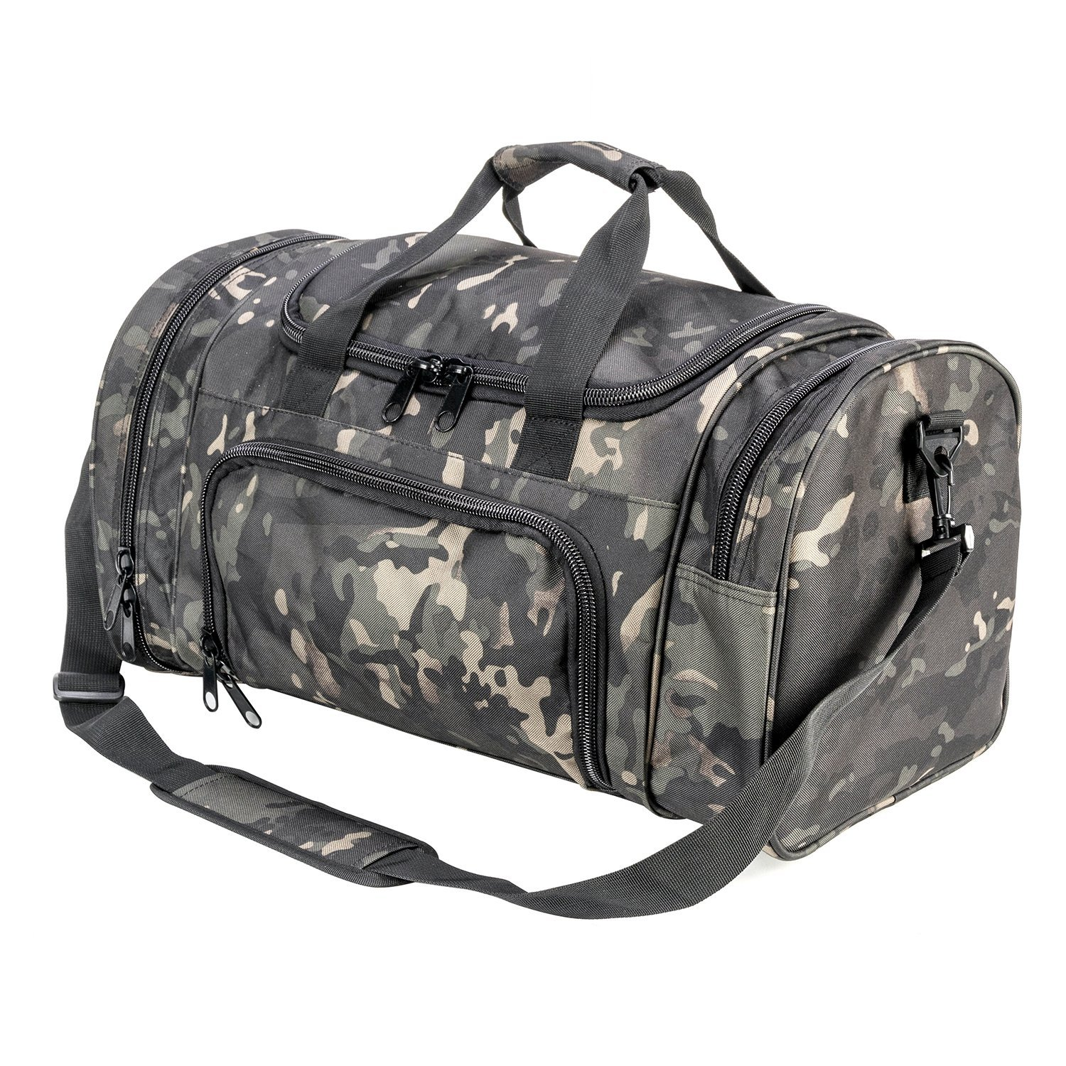 9eee9bab2fec21 Get Quotations · PANS Military Waterproof Duffel Bag Tactical Outdoor Gym  Bag Army Carry On Bag with Shoes Compartment