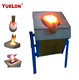Induction furnace 150kg colour metal heating machine factory