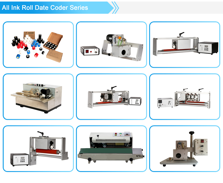 NY-816 Plastic Film Labeling Machine, Label Applicator for Bag Pouch Making Machine with NY-809A Hole Punaching Machine