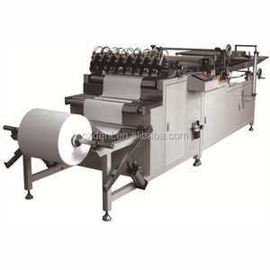 Air Production Line ,Rotary Pleating Make Deep Pleat Hepa Vehicle Paper Car Oil Filter Making Machine