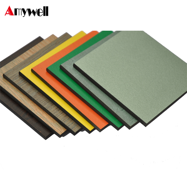 Amywell profesional fabricó 12mm impermeable de Formica chino hpl