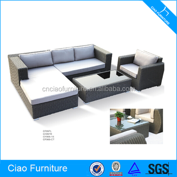 Luar Taman Sofa Rotan Sintetis Outdoor Furniture Klasik Buy Taman