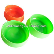Eco friendly silicone rubber fancy dog bowl for export