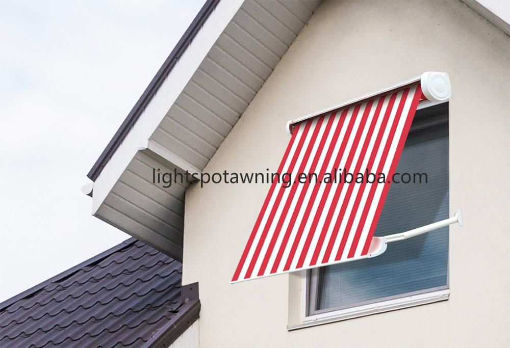 Drop arm rain prefab window outdoor awning in the philippines