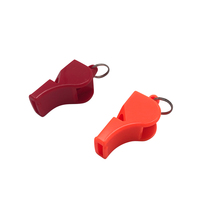 High Quality Cheap Wholesale Outdoor 115dB Loud Orange Custom Print Whistle