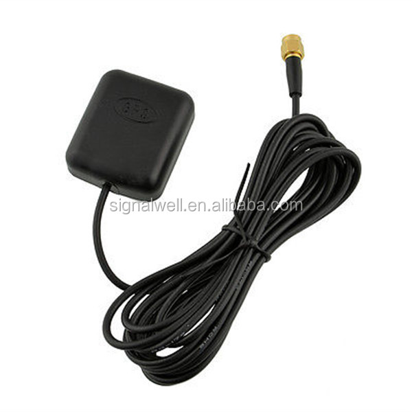Signalwell [manufactory]magnetic Car Active Gps Antenna With Sma ...