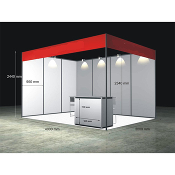 Portable Exhibition Booths : Specialized customized standard exhibition booth portable exhibition