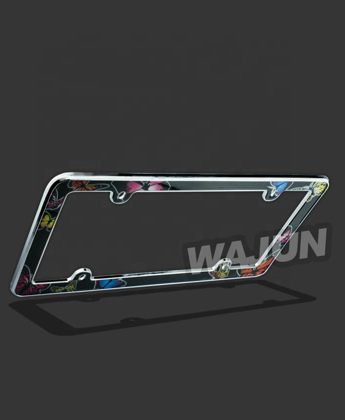 supplies wholesale Lighted license plate frame holders for cars frames