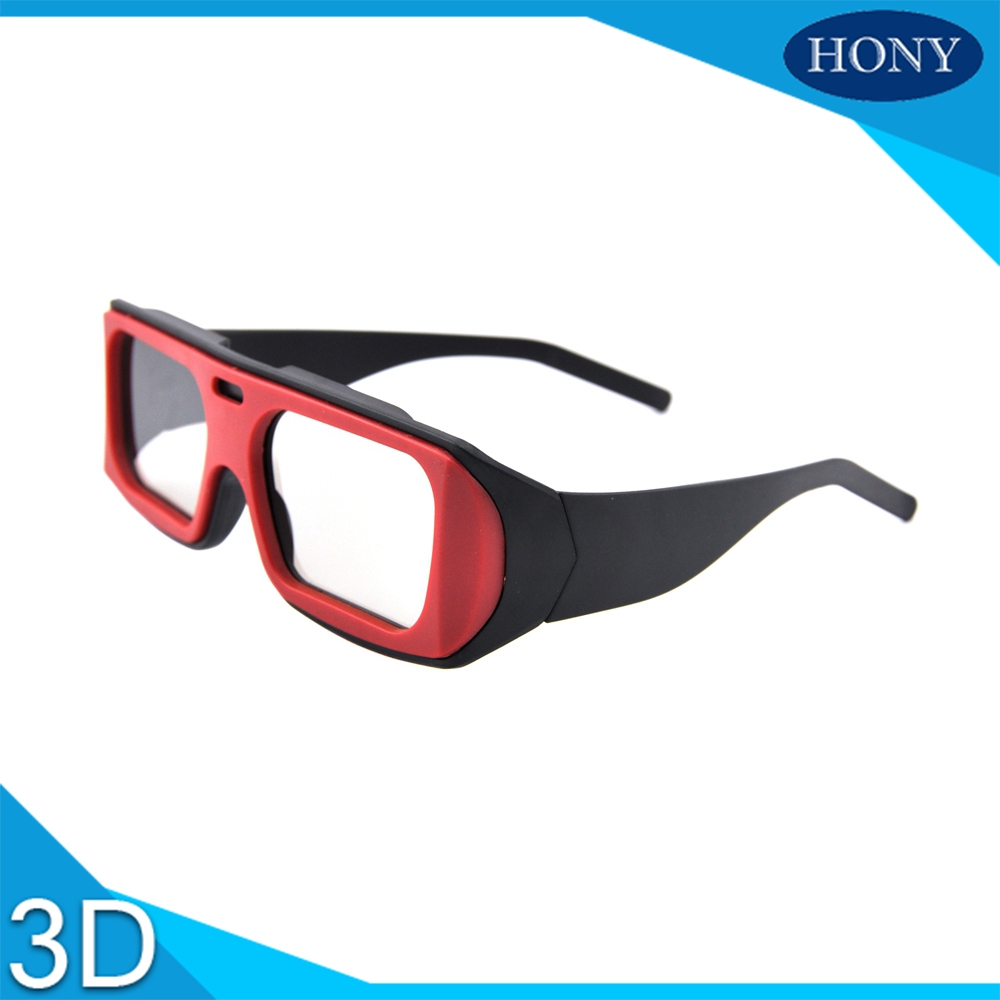 Make 45/135 0/90 Degree Passives Cinemas Imax Linear Polarized 3D Glasses Plastic