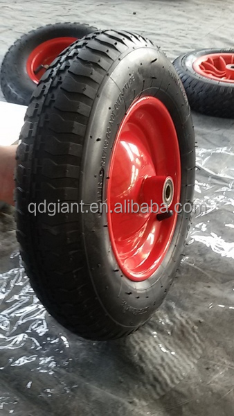 China High Quality good price 3.50-8 pneumatic wheel