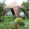 3x3 Easy Up Outdoor Garden Gazebo