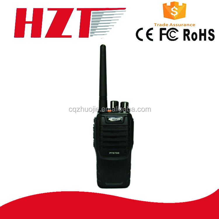 Free sample police equipment Portable handy pt6700 Mini radio scanner Walkie Talkie
