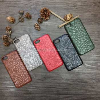 2017 hot new products for iphone 7 6 leather back cover case ultra thin snake leather texture phone case