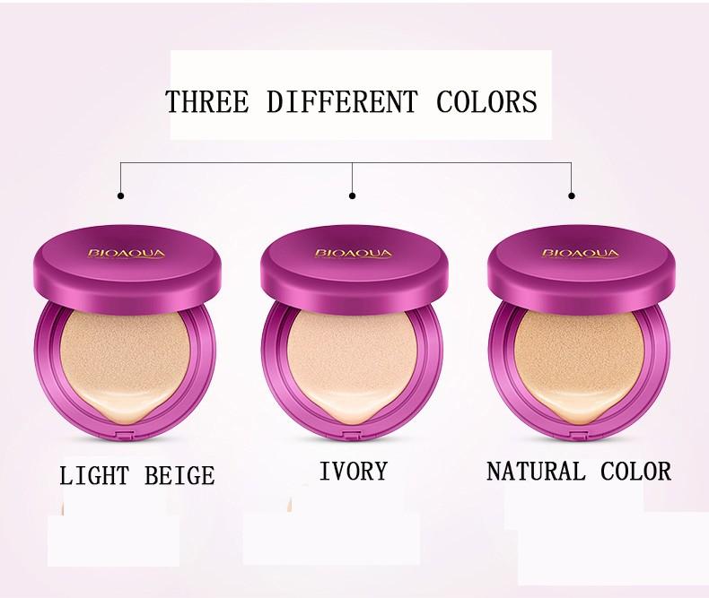 Oem Bioaqua Air Cushion Bb Cream For Three Color Buy Natural Makeup Bb Cream Whitening Moisturizing Bb Cream Moisturizing Bb Cream Product On
