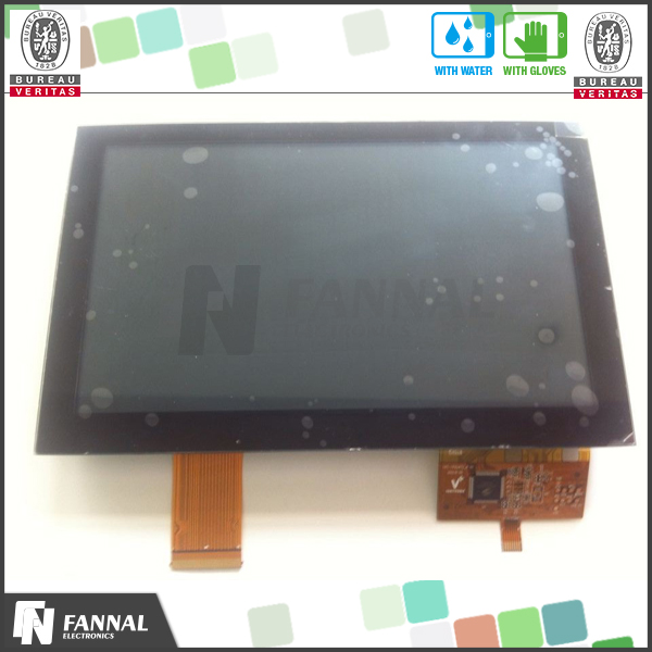 Capacitive Wvga 10.2'' Lcd Tft All In One Max Touch Screen Pid ...