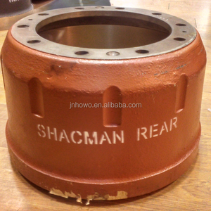 Shacman truck parts rear brake drum 99112340006