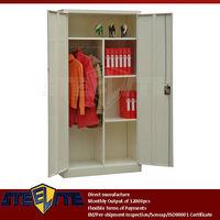factory direct two door steel godrej cupboard price suppliers from luoyang/2 door iron teenage almirah wardrobe with 4 shelves