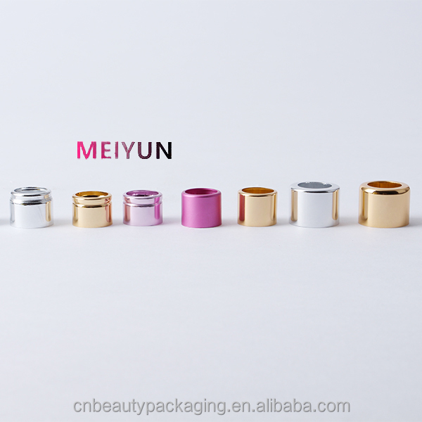 Aluminum perfume bottle collar 15mm 18mm 21mm 24mm,oxidation aluminum bottle cap