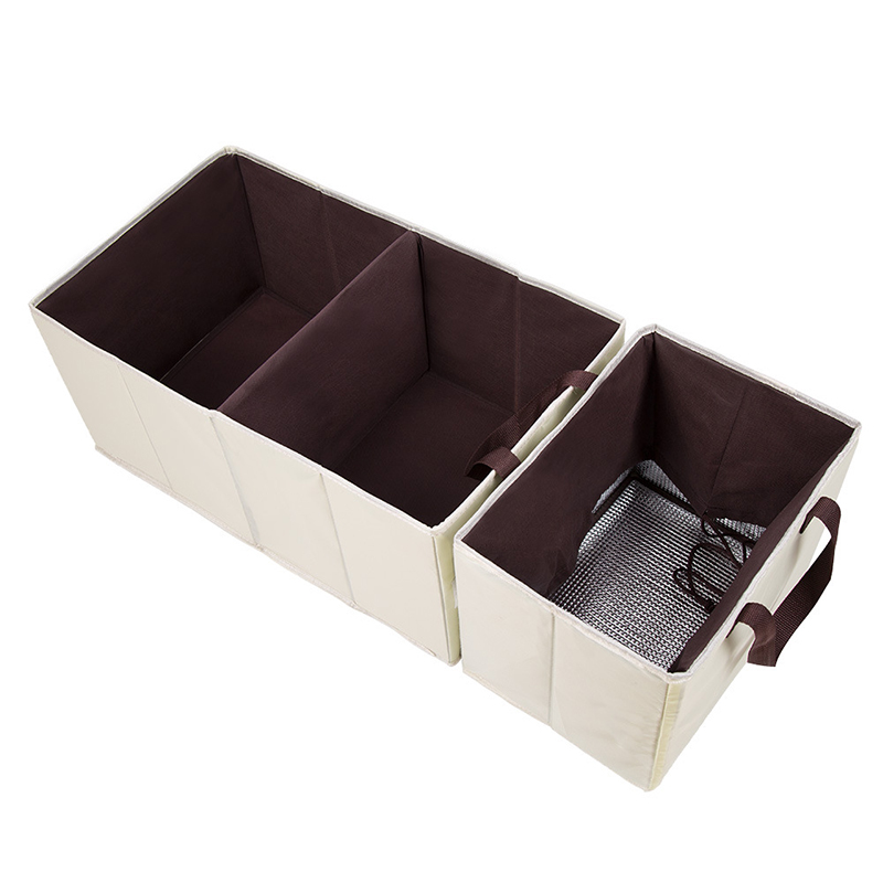 Durable Trendy Car Organizer Trunk With Pockets