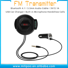 Universale Senza Fili <span class=keywords><strong>Trasmettitore</strong></span> <span class=keywords><strong>FM</strong></span> Audio Adapter Kit Per Auto