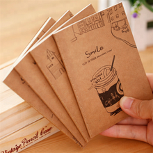 Papier kraft promotionnel mignon petit journal portable en stock