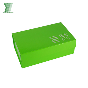 Magnetic Fashion Luxury Wholesale Custom Drop Front Giant Shoe Box Packaging