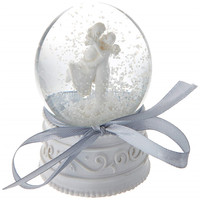 Hot Sale Personalized Handmade Polyresin wedding favors snow globe