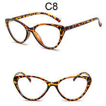 Кошачий глаз, прозрачные очки для женщин, новинка 2020, близорукость, оправа очков, поддельные очки, Ретро стиль, ультра-светильник, прозрачные...(Китай)