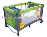 BRG-H26-1AD--baby travel cot