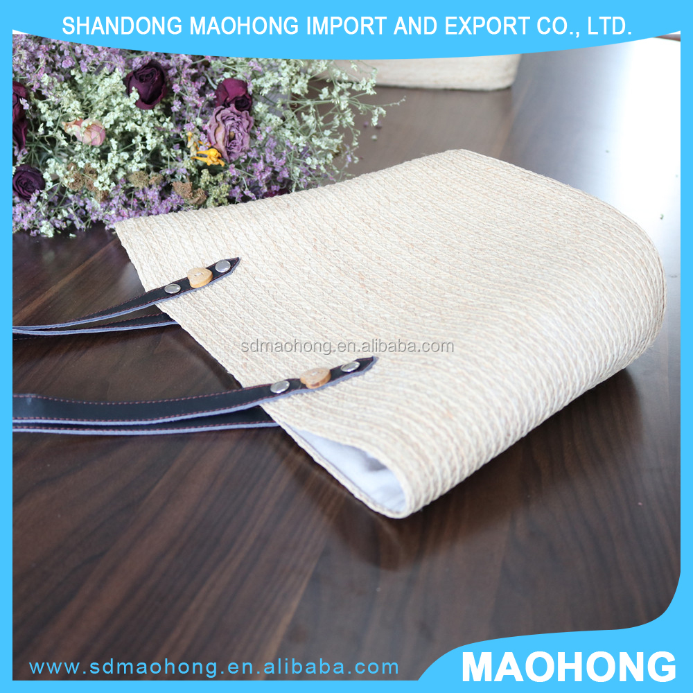 Top Selling Good Quality Customized OEM Natural Straw Handbag