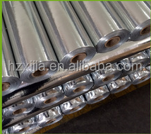 Metalized PET Woven fabric laminated aluminum foil roof heat insulation