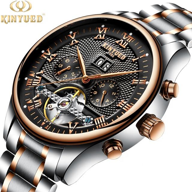 Mechanical Watches Reasonable Hot New Fashion Skeleton Black Steel Men Male Clock Sewor Brand Hollow Cool Stylish Design Classic Mechanical Wrist Dress Watch 100% Guarantee Watches