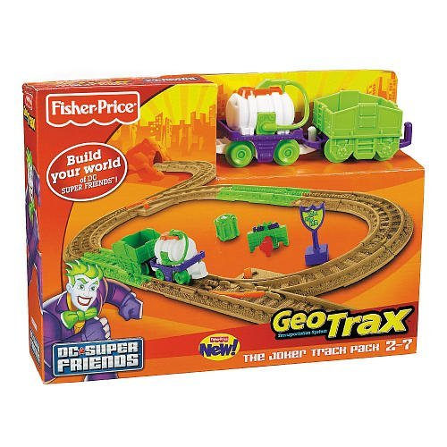 Fisher-Price GeoTrax DC Super Friends Joker Track Pack