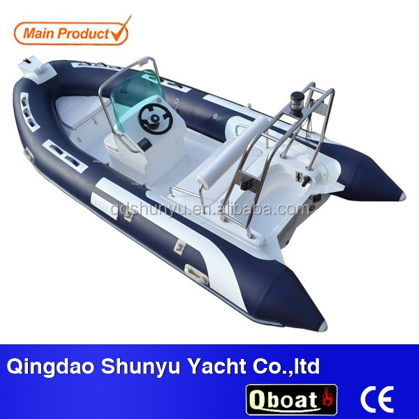 Rib inflatable boat with outboard motor buy rib for Boat motors for sale in sc
