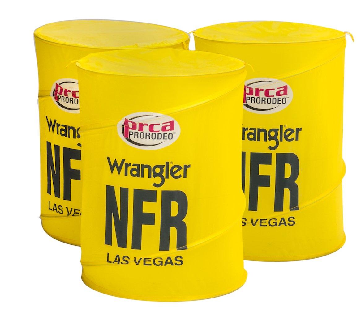 Big Country Toys NFR Barrels - Kids Hopper Toy Accessories - Barrel Racing Toys - Rodeo Toys - Kids Pop-up Barrels