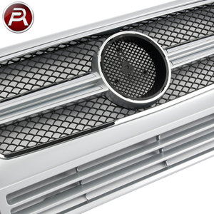China Spare Parts of Mercedes G Class Body Kit W463 Auto Car Front Grille for Mercedes G-Class