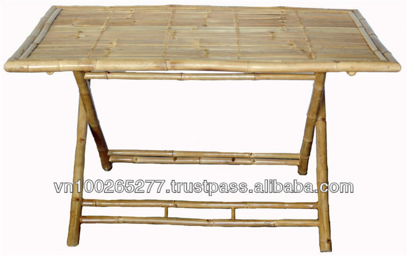 bf 13005 bambou salon de jardin grande table pliante en plein air outils de jardin id de. Black Bedroom Furniture Sets. Home Design Ideas
