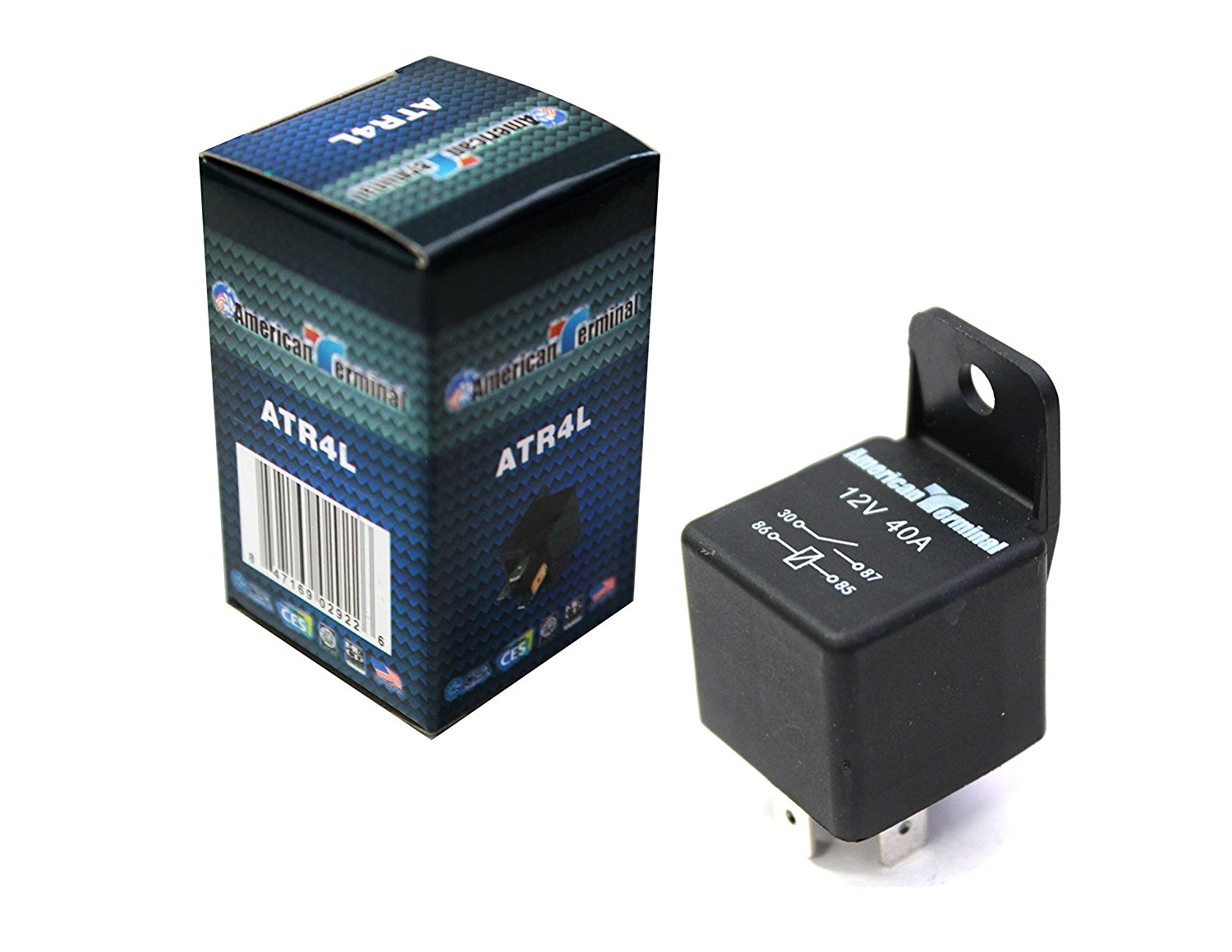 Cheap 60 13 Automotive Relay Find Deals On 4 Pin Get Quotations American Terminal Atr4l 12 Vcd Spdt 40a